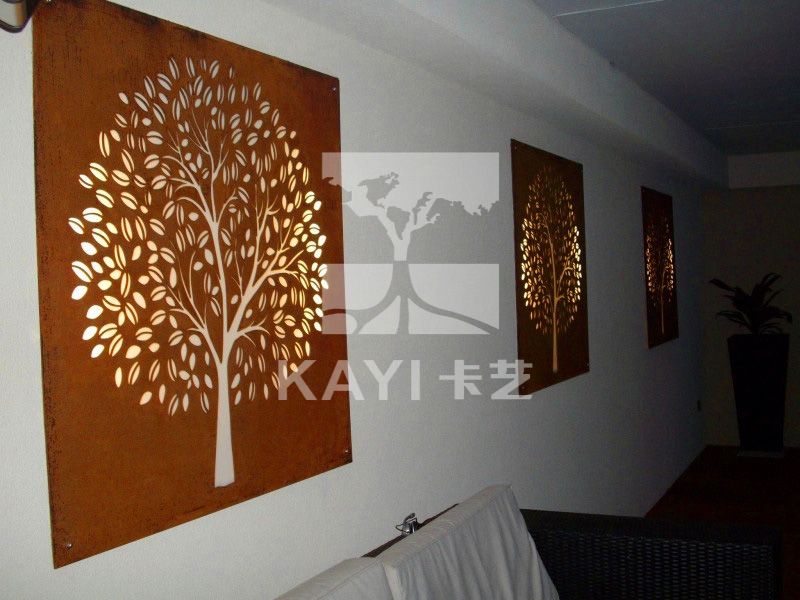 Laser Cut Metal Wall Art